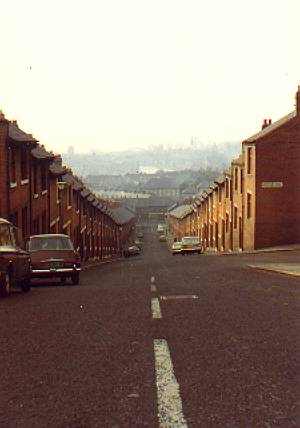 City from Avondale Road, Byker