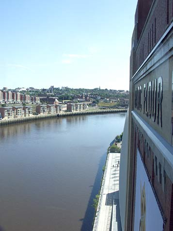 High Hovis view of the Tyne