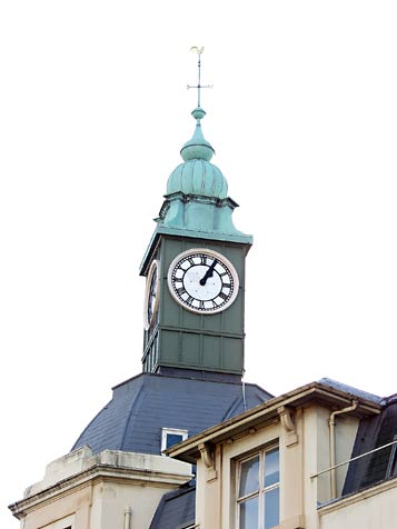 Clock tower from the old Ord Arms