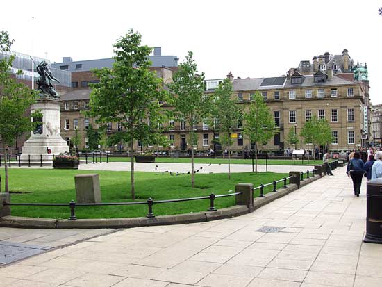 New trees for Eldon Square