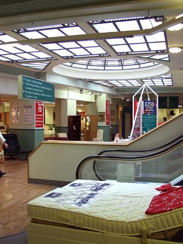 First floor atrium