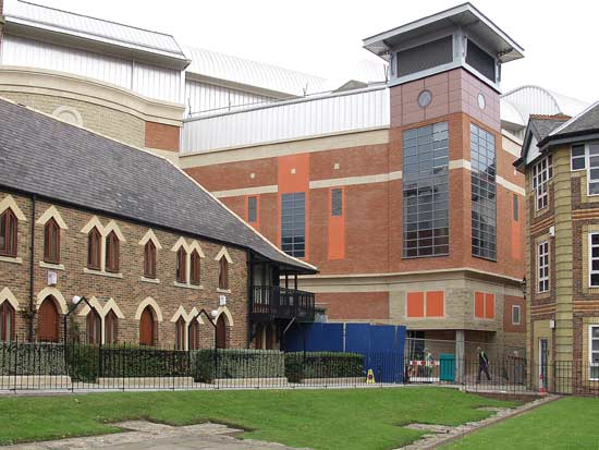Cinema rear from chancel arch of Blackfriars