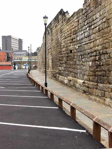 Town Wall and Casino car park
