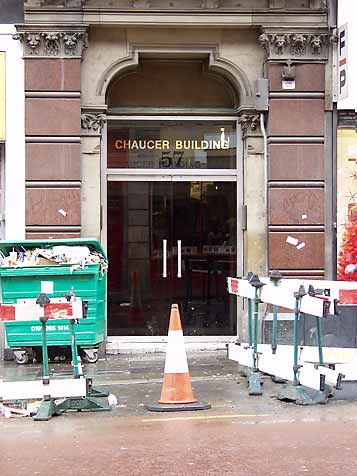 Chaucer Building Entrance