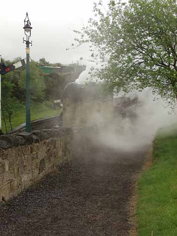 Steam railway lives up to its name