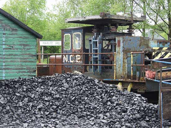 Coal here, and the remains of the National Coal Board