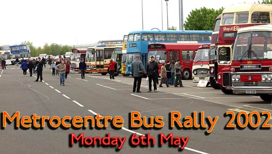 Metrocentre Bus Rally 2002